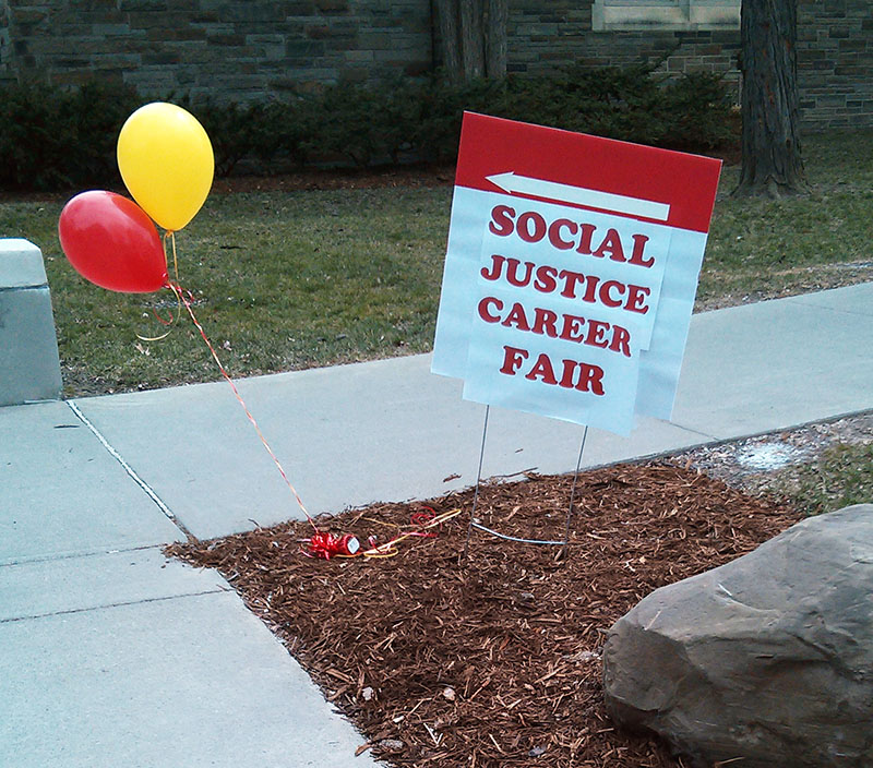 social justice career fair